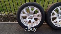 1 X Genuine Landrover Range rover Discovery 19 inch alloy wheel and tyre