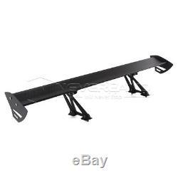 135cm Car Racing Rear Wing Spoiler Lightweight Aluminum Single Deck Universal
