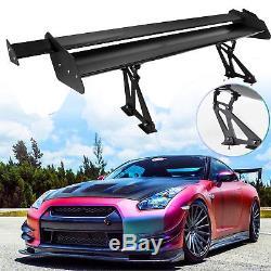 135cm Universal Lightweight Car GT Rear Trunk Wing Racing Spoiler Double Deck