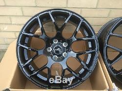 19 Black 815kg Alloy Wheels Fit Vauxhall Vivaro Renault Trafic Nissan Primastar