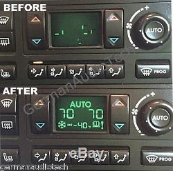 1995-02 Range Rover P38 Climate Control Ac Heater Display Pixel Repair Service