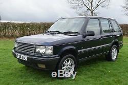 1997 Range Rover 2.5 Dse Manual Diesel P38 Blue 12 Months Mot Spares Or Repair