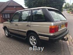 1998 Land Rover Range Rover P38 25 Dse Turbo Diesel Estate Lovely Classic 12 Mot