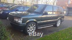 1999 range rover p38 2.5 diesel automatic epsom green