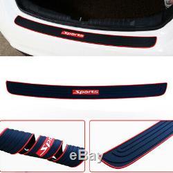 1x Car Accessories Rear Guard Bumper Scratch Protector Non-slip Pad Cover Rubber