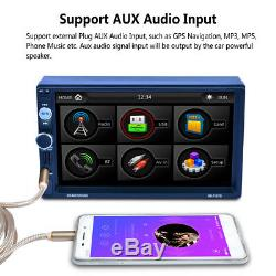 2-Din 7 Newest TFT Screen Stereos Radio MP5 Player withFree Map of Europe AUX/USB
