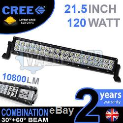 20 120w Cree LED Light Bar Combo IP68 XBD Driving Light Alloy Off Road 4WD Boat