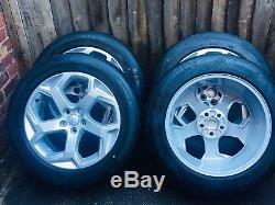 20 Genuine Range Rover Sport Vogue L322 L405 L494 Alloy Wheels Michelin Tyres