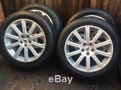 20 Genuine Range Rover Vogue Autobiography Alloy Wheels 255 50 20 Tyres
