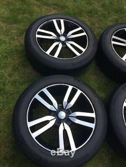 20 Land Rover Discovery 4 Landmark Alloy Wheels Diamond Cut Michelin Tyres