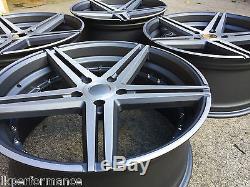 20 Lkw Lk0.12 Alloy Wheels Gunmetal Polished Fits Vauxhall Insignia