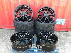 20 Sportline Spyder Alloy Wheels + Tyres Vw Transporter T5 T6 T282 Load Rated