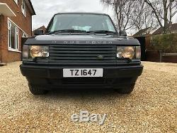 2001 Range Rover P38 2.5 DHSE Auto Java Black 12 Months MOT Private plate inc