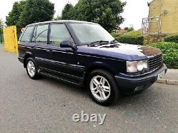 2001 Range Rover P38 4.0 Hse Auto Oslo Blue Low Miles Long Mot F. S. H Great 4x4