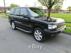 2001 Range Rover P38 4.6 Vogue Auto Black Lpg Long Mot In Great Condition