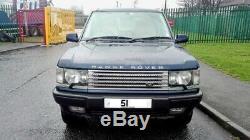 2001 Range Rover P38 4.6 Vogue Auto Lpg Blue Full Mot F. S. H Outstanding 4x4