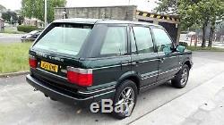 2001 Range Rover P38 4.6 Vogue Auto Lpg Met Green Long Mot S/history Lovely 4x4