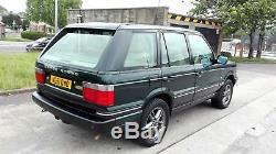 2001 Range Rover P38 4.6 Vogue Auto Lpg Met Green Long Mot S/history Nice 4x4