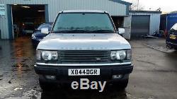 2001 Range Rover Vogue Auto. P38 4554cc petrol, silver, 5 seats