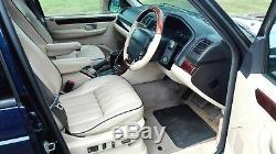 2002 Range Rover P38 4.6 Vogue Auto Blue Top Spec Low Miles With Long M. O. T