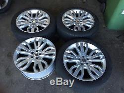 21 Genuine Range Rover Alloy Wheels And Tyres Fit Range Rover Sport Vogue Disco