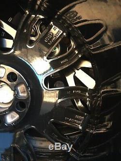 21 Gloss Black Range Rover Sport Vogue L405 L494 L322 Discovery Alloy Wheels
