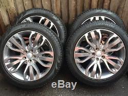 21 Range Rover SVR Vogue Sport Discovery Alloy Wheels Pirelli Scirpion Tyres
