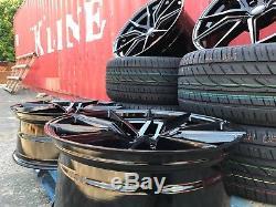 22 New Spyder Alloy Wheels + Tyres Bentley Mercedes ML Gl R Class Glc