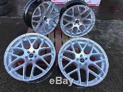 22 Vw t5 t6 amarok Range Rover x5 x6 bmw bern Alloy Wheels SILVER