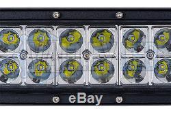 24v 50 300w Curved Cree LED Light Bar Combo IP68 Driving Light HGV Truck