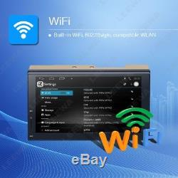 2Din Capacitive screen Multimedia GPS Nav Radio Stereo Bluetooth WIFI FM/USB/AUX