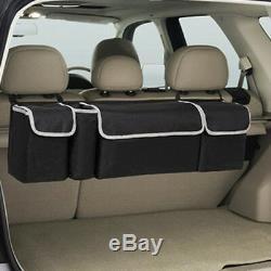 2in1 Car Trunk Accessories Multi-use Organizer Backseat Storage Bag Oxford Cloth