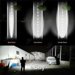 32Inch 780W CURVED Light Bar Off-road Work Light Bar Spot Flood LED PK 42'' 52'