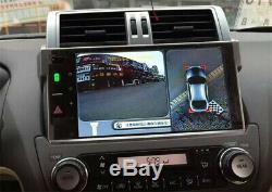 360°1080P HD Car DVR Bird View Panoramic System Seamless 4 Camera WithShock Sensor