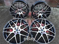 4 22 RANGE ROVER 10x22 BLACK POLISHED ALLOY WHEELS DISCOVERY RANGE ROVER VOGUE