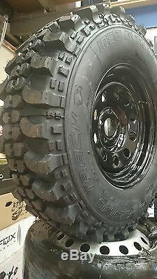 4 X Discovery 2 Wheels 265/75x16 Insa Turbo Special Tracks On Steel Modulars