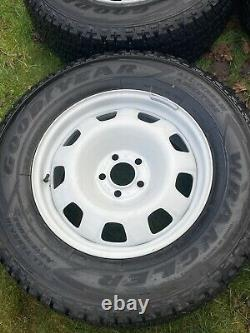 4 x LAND ROVER DEFENDER RANGE ROVER SPORT VOGUE DISCOVERY STEEL ALLOY WHEELS