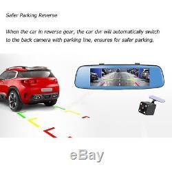 4G Car DVR Dash Cam Vedio Recorder GPS Adas Remote Monitor 4 LED Rear Camera