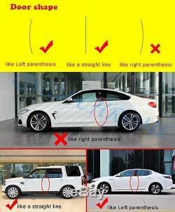 4pcs Car Accessories Door Edge Guard Strip Decorate Anti-rub Scratch Protection