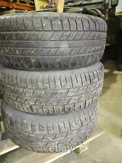 5x RANGE ROVER P38 19 ALLOY WHEELS + EXC TYRES 255/55/19 VOGUE L322 DISCOVERY 2