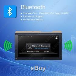 7 2-Din Touch Screen Autos GPS Stereo Multimedia Player Bluetooth Wifi USB AUX