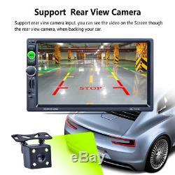 7 Double 2 Din Car MP5 Unit GPS Navigation FM RDS Radio Bluetooth MP3 Charger
