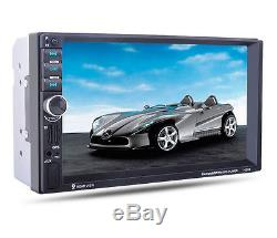 7 HD 2 DIN Car MP5 MP3 Player Radio Stereo Touch Bluetooth GPS Navigation FM TV