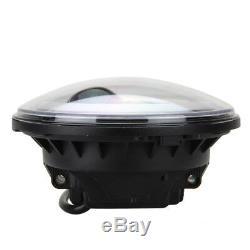 7 Inch Round LED Headlight Halo Angle Eyes Lamp For Wrangler JK LJ TJ 1997-2016