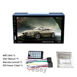 7'' Multi-touch Capacitive Screen MP5 Unit Bluetooth FM Radio Vedio for Auto Car