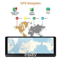 8'' Touch Screen ADAS Android 5.1 Car Dashboard GPS Navi DVR Video Recorder WiFi