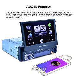 8G MAP Card 7 Touch Screen Single Din Car MP5 Player Radio Stereo GPS SAT NAV
