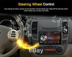 91080P Double 2Din Touch Screen Quad-Core 1+16G GPS Wifi DVD LTE BT Mirror Link