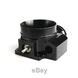 92mm Throttle body + TPS IAC Throttle Position Sensor For LSX LS LS1 LS2 LS7 BK
