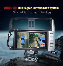 Auto Car 3D 360° Surround View Panorama System DVR with 4x Cameras Night Vision